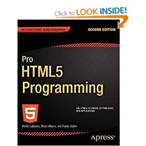 Pro HTML5 Programming 2nd Edition (Professional Apress)