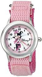 Disney Infinity Kids W002500 Minnie Mouse Analog Display Analog Quartz Pink Watch