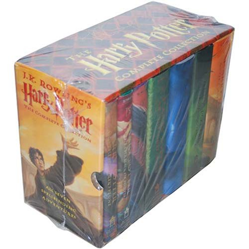 The Harry Potter Complete Collection (Harry Potter, #1-7)
