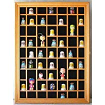 59 Thimble Display Case Cabinet