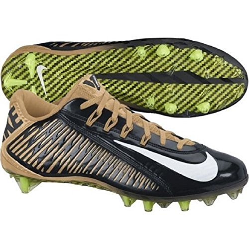 Nike Vapor Carbon 2.0 Elite Flywire TD PF Football Cleats Mens Gold Saints