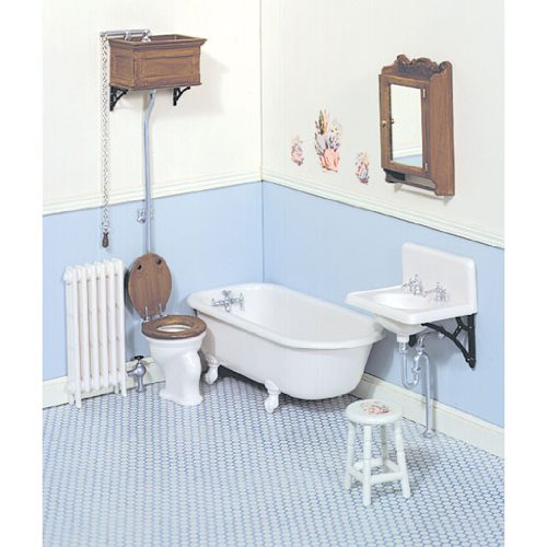 Wonderful Dollhouse Bathroom Furniture Miniature Bathroom Accessories Bathroom