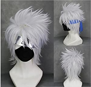 Naruto Short Mix Silver Cosplay Wig Costume Wigs(not include the mask)