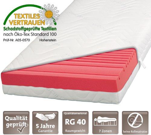 die besten kaltschaummatratze kaufen 7 zonen kaltschaum matratze single 70x200 test. Black Bedroom Furniture Sets. Home Design Ideas