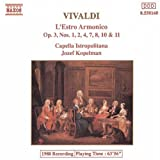 echange, troc Vivaldi, Kopelman, Capella Istropolitana - Concerti 1, 2, 4, 7, 8, 10 & 11