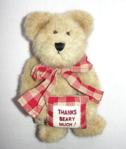"Boyd's Bears Thanks Beary Much! Thank you 9"" Bear - 1"