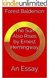 religion in the sun also rises Religion in the sun also rises essay - mfa creative writing tn 9 nisan 2018 yorum yazın tarafından yazıldı what to consider when writing a william shakespeare.