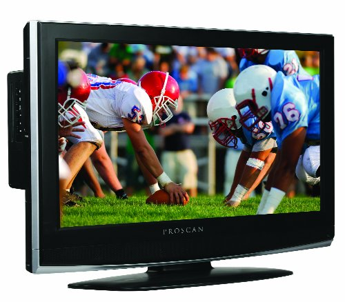 Proscan 26Lb30Qd 26-Inch 720P Lcd Hdtv With Built-In Dvd Player, Silver/Black