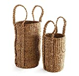 Napa Home & Garden Seagrass Olive Tree Baskets, Set of 2