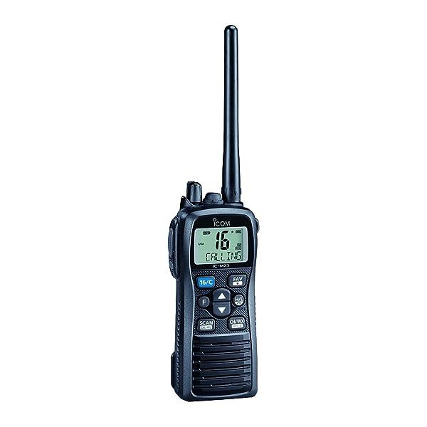 ICOM Marine VHF Handheld Radio, 6W (Tamaño: 6W)