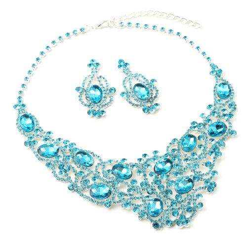 silver-aquamarine-dangle-earrings-tennis-net-style-chandelier-necklace-jewelry-set