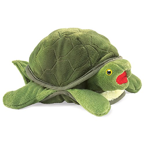 Folkmanis-Baby-Turtle-Hand-Puppet