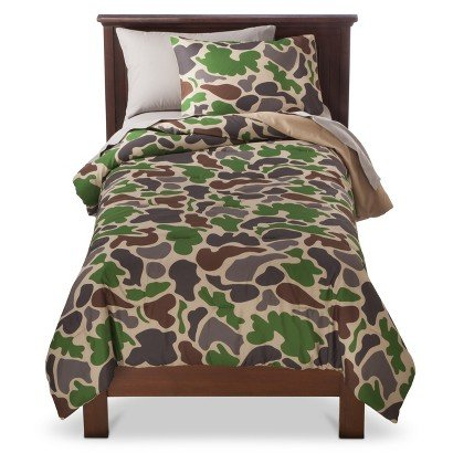 Circo® Camouflage Camo 7 Piece Bed Set - Full (Camouflage Sheets Full compare prices)