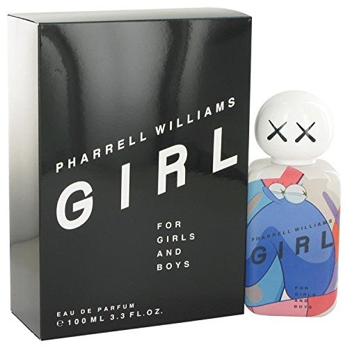 Pharrell Williams Girl by Pharrell Williams Eau De Parfum Spray (Unisex) 3.3 oz for Women by Pharrell Williams