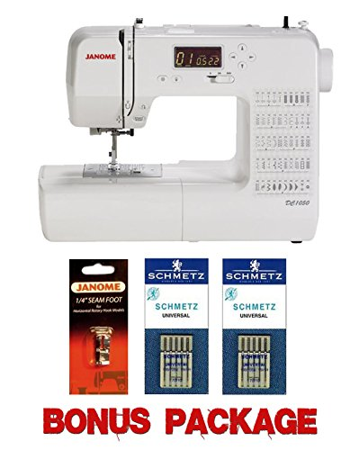 Janome DC1050 Computerized Sewing Machine w/FREE BONUS PACKAGE (Janome Dc 1050 compare prices)