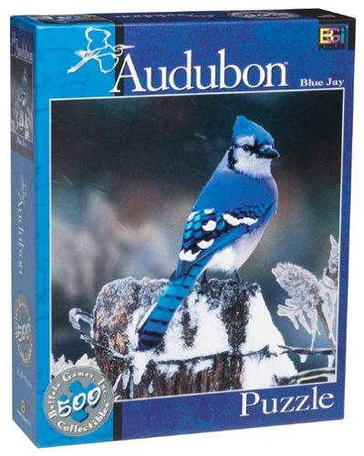 Audubon Blue Jay Jigsaw Puzzle 513pc by Buffalo Games