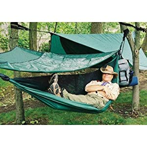 Hennessy Scout Camping Hammock with Zipper (2 lbs 10 oz) by Hennessy Hammock