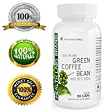 Health Labs PURE GREEN COFFEE BEAN Extract - As Seen On TV - MAX Strength - FAT BURNER Formula - Premium Quality - Diet Pills - 100% Pure - Natural Organic - 4800 mg Daily - POTENT 50% GCA - Fast Weight Loss - Plus Appetite Suppressant - 100% LIFETIME GUARANTEE - 90 Pure Veggie Caps
