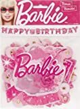 Barbie Happy Birthday Letter Banner