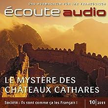 Écoute audio - Les châteaux cathares. 10/2011: Französisch lernen Audio - Die Burgen der Katharer (       UNABRIDGED) by div. Narrated by div.