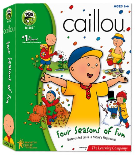 Caillou Four Seasons of Fun - PC MacB00006OARE