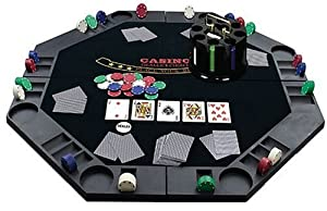 6 person poker table tops