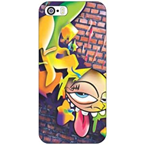 I Phone 5S sad face Phone Cover - Matte Finish Phone Cover