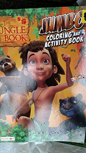 The Jungle Book Jumbo Coloring & Activity Book - 1