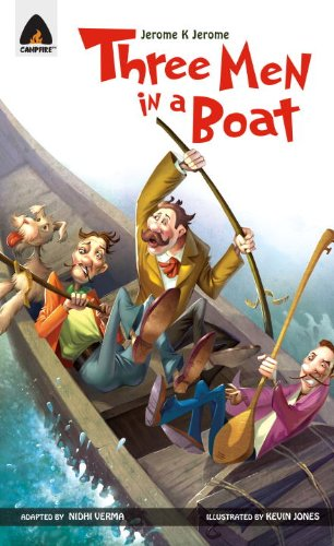 Three Men in a Boat (Campfire Graphic Novels)