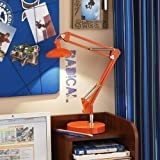 Sunter Lighting Natural Daylight Architect 2.4-Watt LED Desk Lamp, Orange at Amazon.com