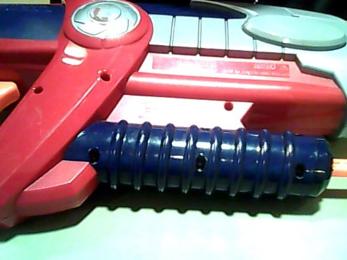 2003-hasbro-inc-hasbro-super-soaker-hydro-blade-c723b-water-squirt-gun-toy-red-violet-blue-grey-oran