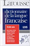 img - for Lexis: Larousse De La Langue Francaise book / textbook / text book