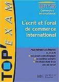 echange, troc Massabie+Poulain - L'ecrit et l'oral du commercial international bts commercial international