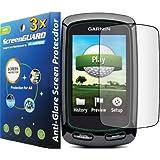3x Garmin Approach G6 Golf GPS Premium Anti-Glare Anti-Fingerprint Matte Finishing LCD Screen Protector Cover Guard Shield Protective Film Kits (Package by GUARMOR)