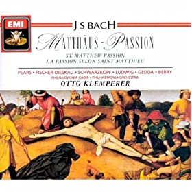 'St Matthew Passion' Bwv244 (1989 Digital Remaster), Part I: Nr.6 Rezitativ: Da Nun Jesus (Evangelist)