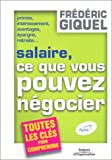 Salaires, ce que vous pouvez ngocier
