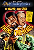 Thing With Two Heads [DVD] [1972] [Region 1] [US Import] [NTSC]