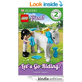 LEGO� Friends Let's Go Riding (DK Reader Level 2)
