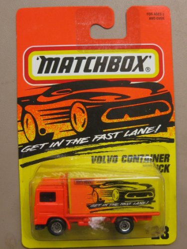 Matchbox Volvo Container Truck #23
