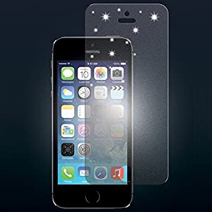 Proporta iPhone 5, iPhone 5S Glitter Shimmer Screen Protector Application Kit - Ultra Clarity NOW WITH EXTRA SPARKLY Sparkle Effect Screen Shield - Lifetime Exchange Warranty