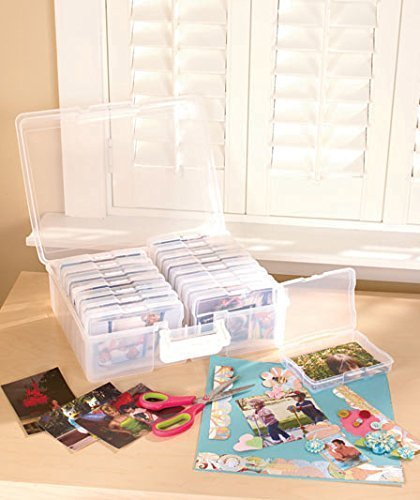 Scrapbooking 1,600 Photo Organizer Case - 16 Inner Cases - Snap Closures, Standard Shipping Only (Picture Organizer compare prices)