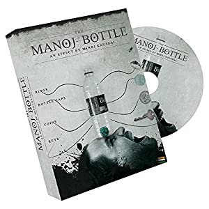 Manoj Bottle (DVD & Gimmicks) by Manoj Kaushal - Trick