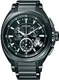 [シチズン]CITIZEN 腕時計 ATTESA アテッサ Eco-Drive エコ・ドライブ 電波時計 ワールドタイム クロノグラフ ジェットセッター ダイレクトフライト ATD53-3012 メンズ