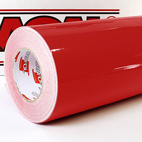 Oracal-621-FOLIEN-SET-031-Rot-Klebefolie-5m-x-63cm-Folie-Moebelfolie-Plotterfolie-Selbstklebend-FOLIEN-SET-inkl-Rapid-Teck-Montage-Rakel