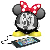 eKids Minnie Mouse Rechargeable Character Speaker, by iHome  - DM-M662
