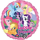"My Little Pony Happy Birthday Ponies 18"" Foil Balloon"