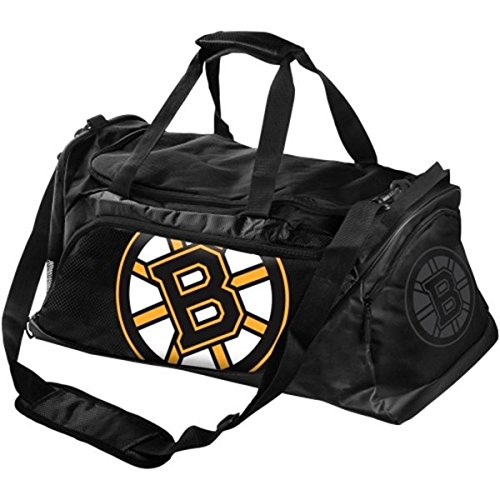 NHL Boston Bruins Locker Room Collection Duffle Bag