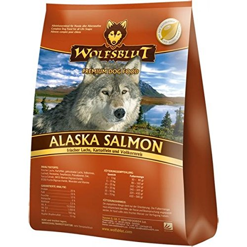 wolfsblut alaska salmon 15 kg preisvergleich hundefutter. Black Bedroom Furniture Sets. Home Design Ideas