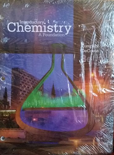 introductory chemistry a foundation pdf
