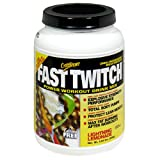 CytoSport Fast Twitch Power Workout Drink Mix, Lightning Lemonade, 2.04 Pound